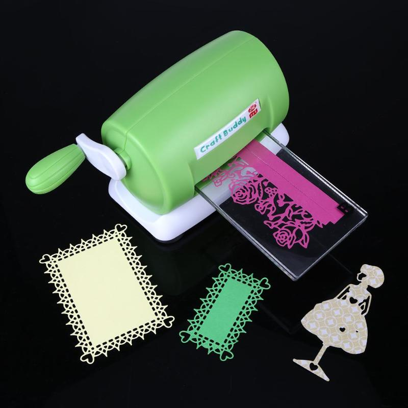 DIY Plastic Paper Cutting Embossing Machine Craft Scrapbook Album Cutter Paper Cutting Embossing Machine NEW,15.5*11*8 cm plastic embossing foldet flower diy scrapbooking photo album card paper craft decoration template