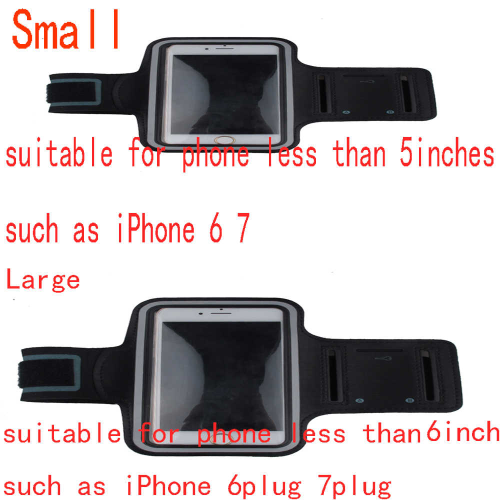 Mobile Phone Arm Bag Band Waterproof Sport Running Arm band Case Workout Holder for 5-6 Inches Phone Pouch SAMSUNG iPhone