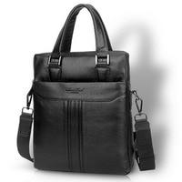 Men High Quality Business Handbag Fashion Genuine leather First layer Cowhide Messenger Single Shoulder Bag Briefcase Handbags
