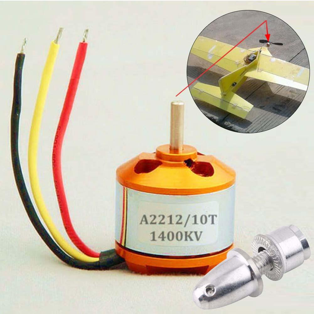 A2212 KV1400 Brushless Motor For RC Multirotor Aircraft Airplane Multicopter STA  цены