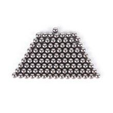 100pcs/set 4mm Steel Balls Slingshot Hunting High-carbon Steel Slingshot Balls Catapult Slingshot Hitting Steel