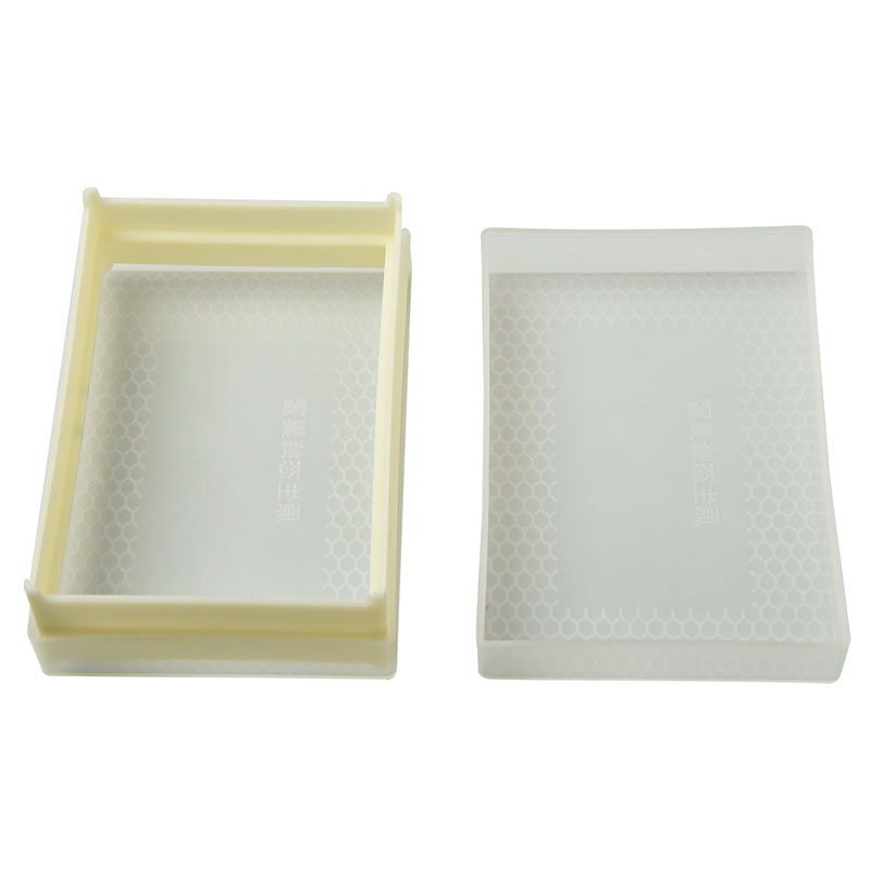 5PCS New Honeycomb Frame Box 500g Capacity Containing Foundation Bees Produce Honey Collection Storage Box in Beekeeping Tools from Home Garden