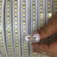 LED strip 220V 240V SMD 5730 120leds/m Waterproof flexible led tape light 5630 rope bar 20m 50m 100m Fast shipping Wholesale