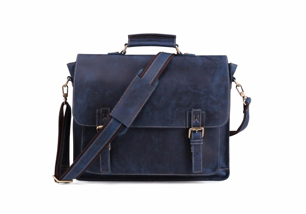 HTB1umjRBlmWBuNkSndVq6AsApXa8 JOYIR 2019 Vintage Men's Genuine Leather Briefcase Crazy Horse Genuine Leather Messenger Male Laptop Bag Men Business Travel Bag