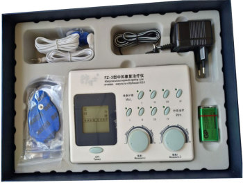 Low And Medium Frequency Acupuncture therapy device FZ-1. FZ-3 Lcd cervical spine health care massage relaxant Russian langauge 6 output sdz ii electron acupuncture treatment instrument home health care massage device