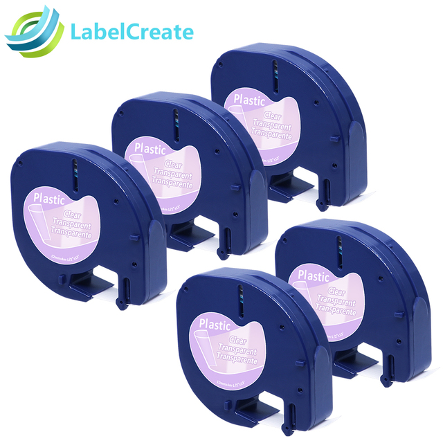 Aliexpress Buy 5 Packs Compatible For Dymo Letratag Tape 12267