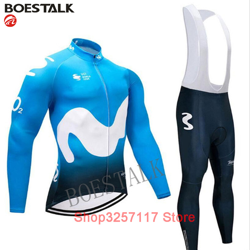 506500bf6 Detail Feedback Questions about MOVISTAR uci 2019 spring autumn custom  clothing cycling jacket bike set tops wear jersey suit ropa ciclismo hombre  uniforme ...