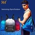 361 のためのスポーツジム防水水泳バッグ巾着 wb プールビーチフィットネス男性女性バックパック