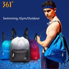 361 Sports Backpack for Gym Waterproof Swimming Bag Drawstring Dry Wet Bag for Pool Beach Fitness Men Women  Back pack недорого