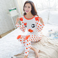 2017 Outono Porco Dos Desenhos Animados Character Pijamas Conjuntos Pijamas Mulheres Pijamas Mujer Femme Fatos de Treino de Manga Comprida Feminina Sleepwear