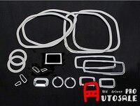 Для Jeep Grand Cherokee 2011 2015 18 шт. интерьерные аксессуары весь комплект крышка отделка