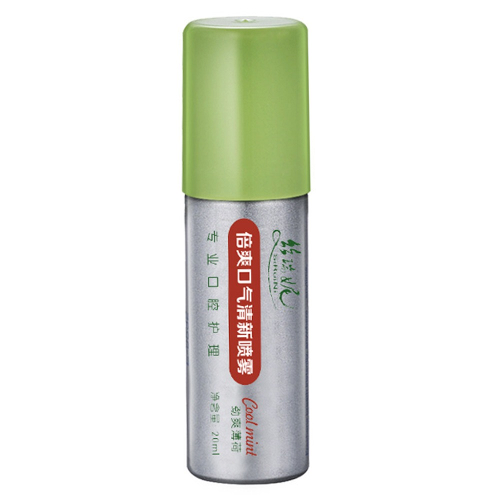 20ml Breath Freshener Oral Spray Mint Bad Odor Halitosis Treatment Clean Mouth