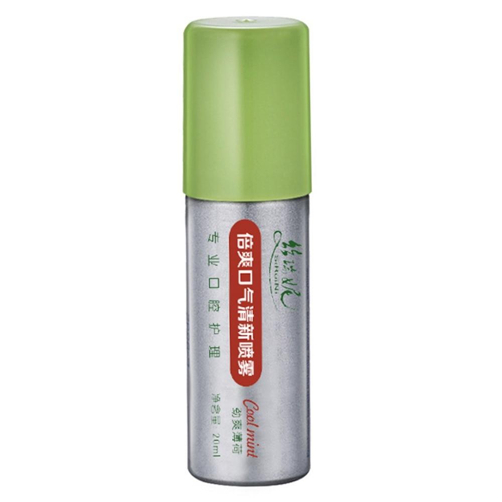 20ml Breath Freshener Oral Spray Mint Bad Odor Halitosis Treatment Clean Mouth