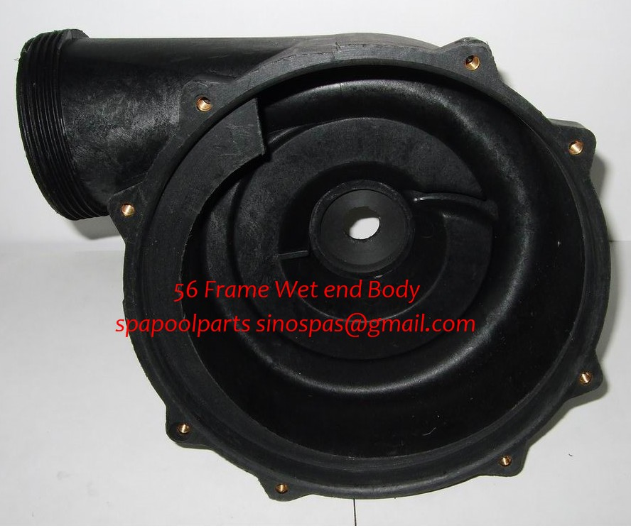 LX pump wet end body 7.5 inch fit WUA LP Series pump LP200 LP250 LP300 produced before 2008 year lx pump ea320 ea350 pump wet end pump body