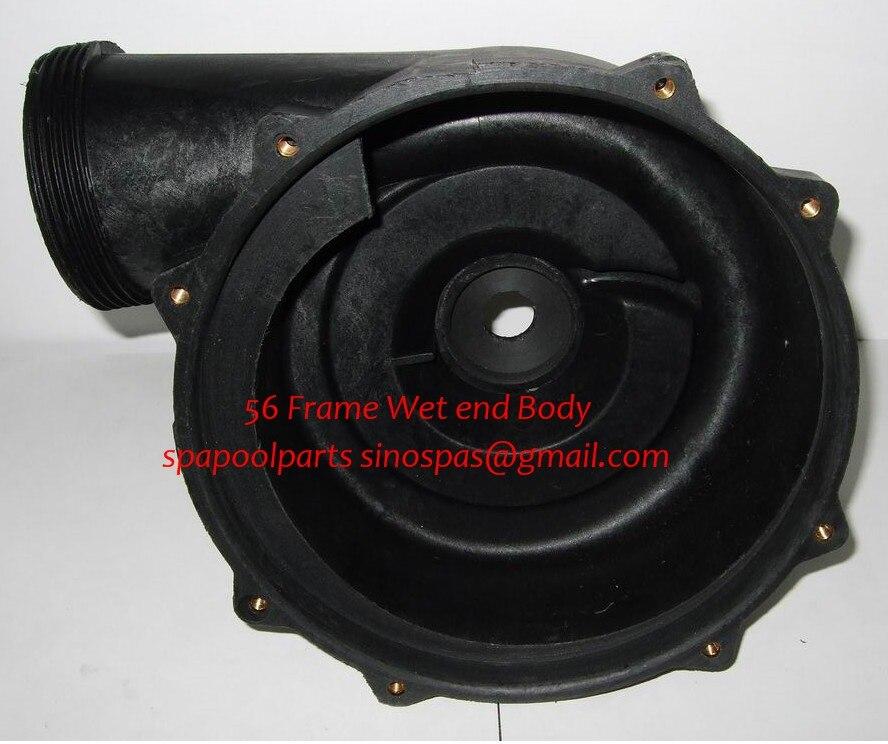 LX pump wet end corpo 7.5 pollice misura WUA LP Serie pompa LP200 LP250 LP300 prodotte prima del 2008 annoLX pump wet end corpo 7.5 pollice misura WUA LP Serie pompa LP200 LP250 LP300 prodotte prima del 2008 anno