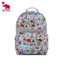 OIWAS прекрасный Модный узор Для женщин рюкзак Повседневное леди Обувь для девочек школы рюкзак сумка дорожная сумка Красочные