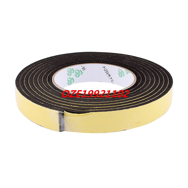 20mmx4mm Single Sided Sponge Tape Adhesive Sticker Foam Glue Strip 10Ft 2pcs 2 5x 1cm single sided self adhesive shockproof sponge foam tape 2m length