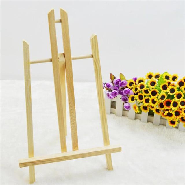 16inch Mini Artist Wooden Folding Painting Easel Frame Tripod Display Holder for Art Craft Photo DIY Wedding Decor