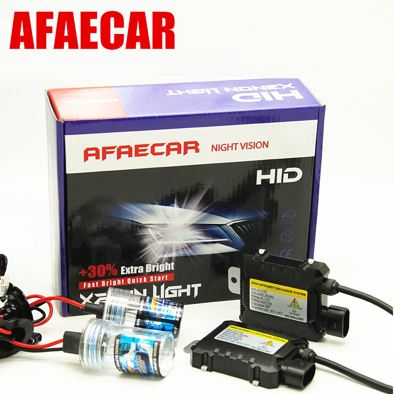 55w 6000K 8000K  H4 H/L  9005 9006 H11 xenon H7 4300K 10000K H1 H3 880 881 hid headlight bulbs conversion KIT