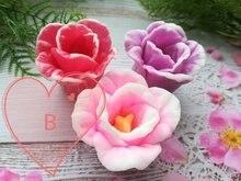Тюльпан цветок мыло формы ручной работы Украшение Женская фотография