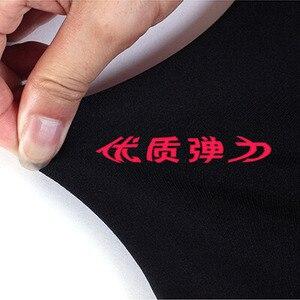 Image 5 - TOIVOTUKSIA 200g kış yeni yüksek elastik Lady tayt sıcak tozluk renkli pantolon sıska kadın kış dikişsiz tayt