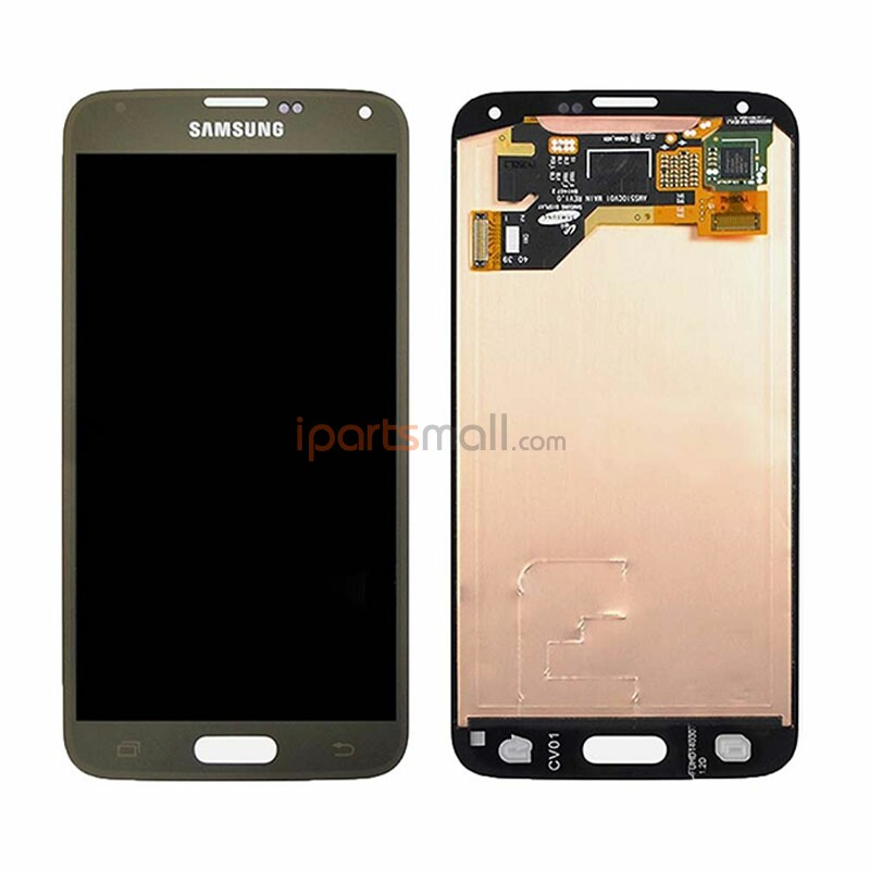 Original LCD Screen Display With Touch Digitizer Assembly For Samsung S5 i9600 G900F G900H G900M G9001 G9008V Ship By DHL EMS