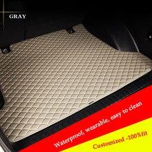 цена на Custom car trunk mat For nissan qashqai juke qashqai almera Patrol GT-R X-Trail Cefiro fuga QUEST Cargo Liner car accessories