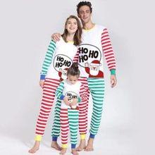 992b9d3a45887 Famille Match noël pyjamas ensemble 2018 nouvelle noël offre spéciale maman  papa enfant bébé vêtements de nuit vêtements de nuit.