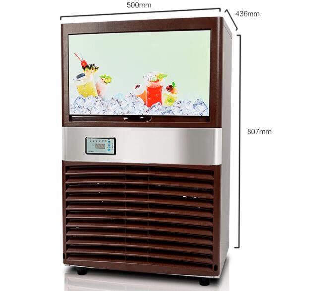 2019 45kg/24h production commercial automatic ice cream maker automatic ice maker machine ice cube maker2019 45kg/24h production commercial automatic ice cream maker automatic ice maker machine ice cube maker