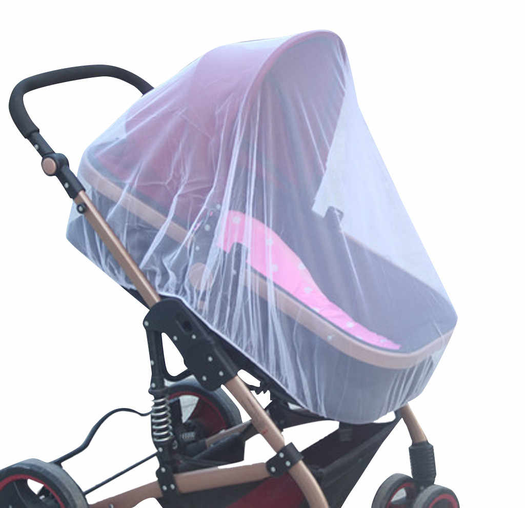 Stroller Pushchair Pram Mosquito Fly Insect Net Mesh Buggy Cover for Baby Infant  MAR15