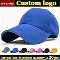 20pcs Small Minimum Quantity Order Custom Sandwich baseball caps team hats embroidery printing logos Wholesale sport caps MOQ