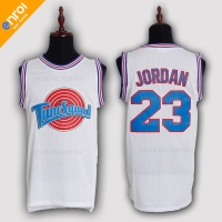 Space Jam TuneSquad Basketball Jerseys BUGS 1 DUCK 2 LOLA 10 MURRAY 22 JORDAN Jersey 23