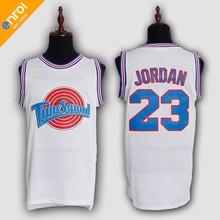 b262a45a06657a Space Jam TuneSquad BUGS  1 DUCK  2 LOLA  10 MURRAY  22 JORDAN  23 Taz Movie  Basketball Jerseys Throwback Stitched Retro Shirts