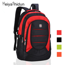 MeiyaShidun Large Pocket bag men's backpacks Swiss package Saber Laptop bolsas Commercial College backpack HOT travel school bag
