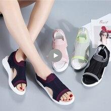 TKN Frauen sandalen weibliche schuhe frau 2019 sommer keil komfort sandalen damen flache slingback flache sandalen frauen alias 7739