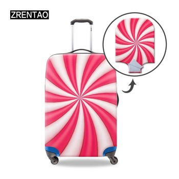 ZRENTAO new fashion luggage cover durable protector cover for travel suitcase stretch trolley case cover for 18-21 inch cover cover co181 03