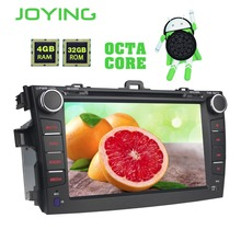 Joying Android 8.0 Car Stereo 4GB HD Screen In Dash DVD player 2 din Car Radio 8″Head Unit GPS Navi for Toyota Corolla 2007-2013