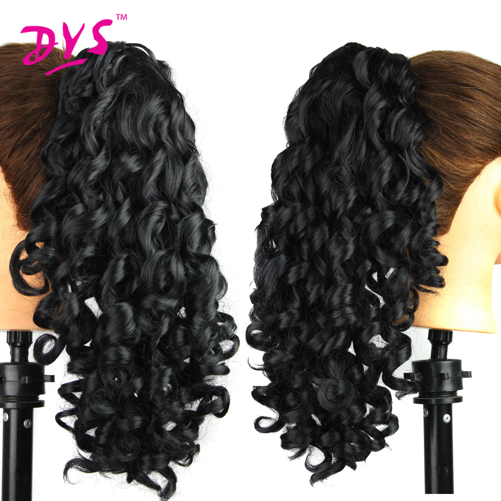 Deyngs 20inch Kinky Curly Claw i Ponytail Hair Extensions Fake Hair - Syntetiskt hår - Foto 5