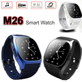 Smartwatch M26 Bluetooth Smart Watch With LED Alitmeter Music Player Pedometer Sync For IOS Android Smart Phone U8 UX