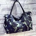 2017 Fashion Joker Lady Handbag Famous Designer Handbags PU Leather Black Female Bag  Woman Camouflage Single Shoulder Bag A094