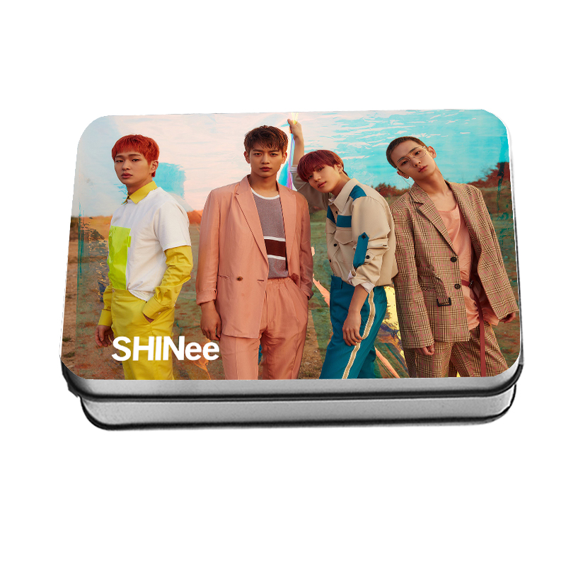 Kpop Shinee The Story of Light Lomo Card New Album Photograph Cards Collective Posters