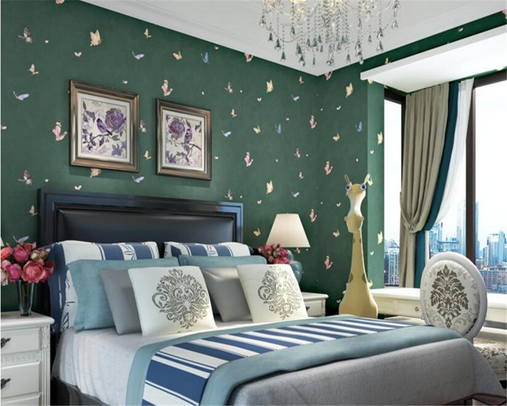 Beibehang jongen meisje mode persoonlijkheid mooie kamer blauwe
