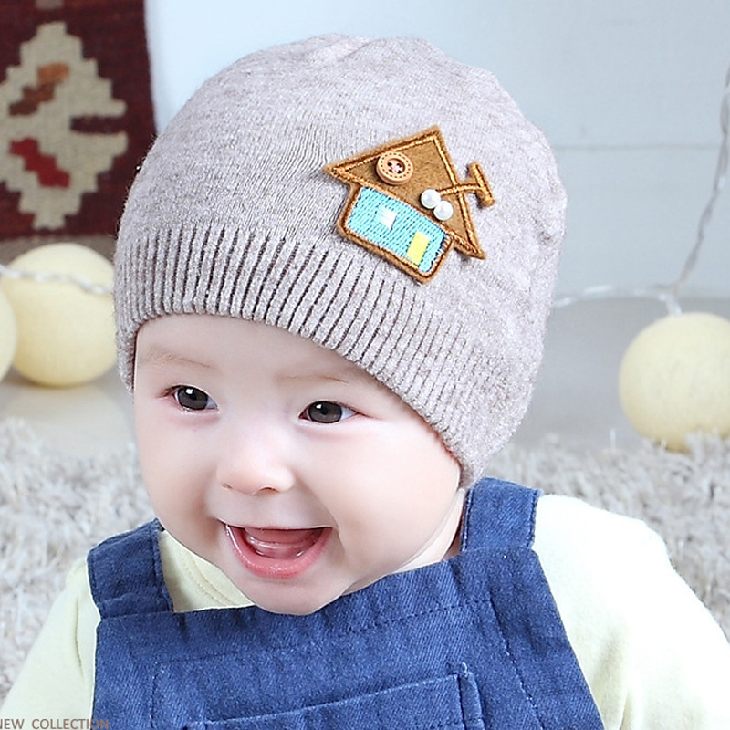 Papa Moose Infant Knit Hat Baby Beanies Caps