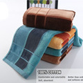 1Pc/set Towels 100% Cotton Washing Hand towel bath towels for Adults washcloth Set Bathroom Use Home Textile sandbeach washcloth