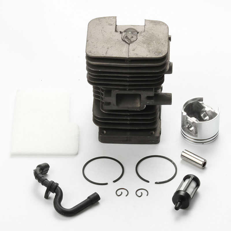 New Cylinder Piston kits with Fuel Filter line For Stihl MS180 018 Chainsaw Replaces 1130 020 1208 52mm cylinder piston kit fuel oil line filter for stihl 046 ms460 chainsaw