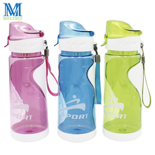 Meltset Leak Proof Sport Bottles 500ml Portable Plastic Water Bottle w