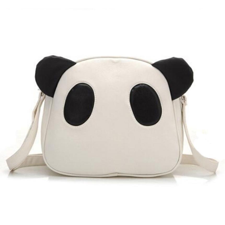 Women's Cute Panda Leather Handbag Crossbody Shoulder Bags Bolsos Mujer Crossbody Bags For Girls