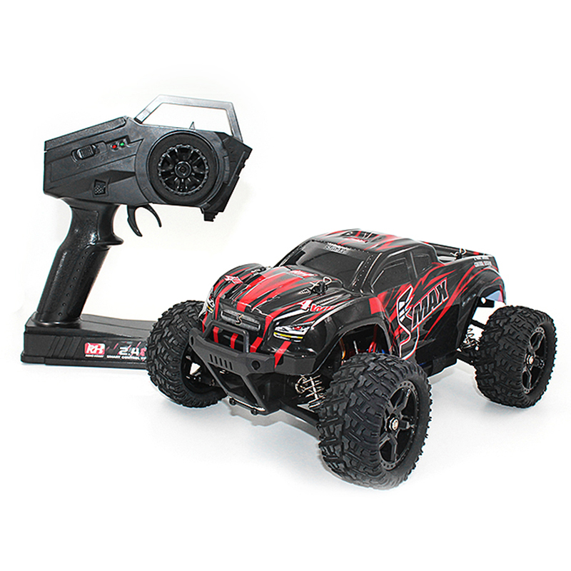 High Speed RC Cars Toys 1:16 4WD Driving RC Brushed Truck RTR 30 - 40km/H Water-Resistant ESC RC Car Toy Vehicles Gifts For Kids new 7 2v 16v 320a high voltage esc brushed speed controller rc car truck buggy boat hot selling