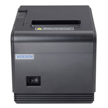 High quality 80mm original Auto-cutter POS printer Thermal Receipt Printer USB+Serial/Lan for Hotel/Kitchen/Restaurant