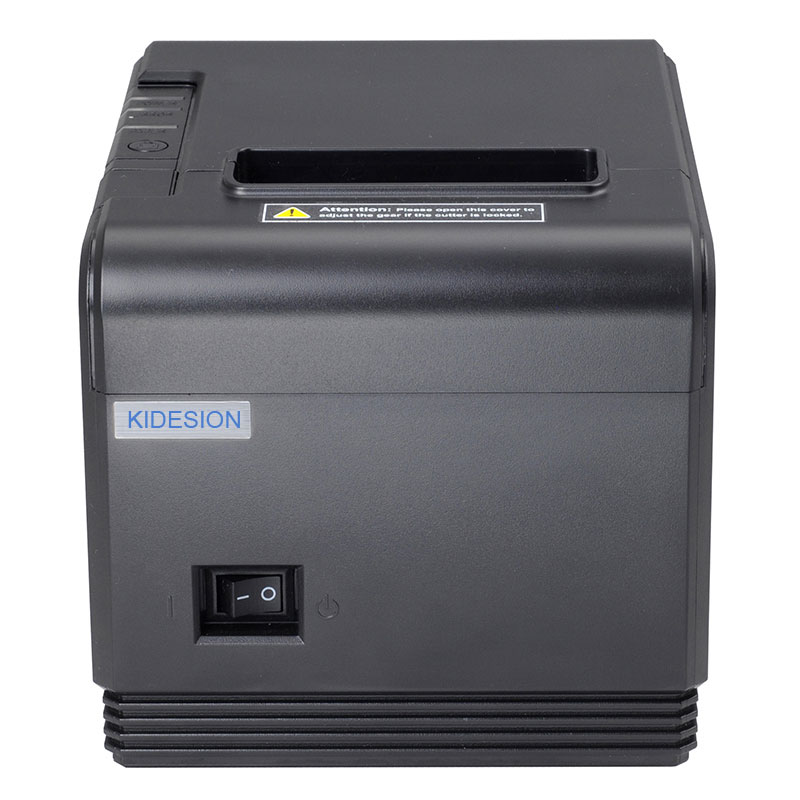 High quality 80mm original Auto-cutter POS printer Thermal Receipt Printer USB+Serial/Lan for Hotel/Kitchen/Restaurant high quality 80mm auto cutter usb bluetooth thermal receipt printer pos printer for hotel kitchen restaurant retail